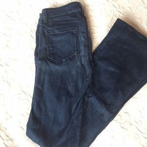 Paige dark wash jeans. Skyline boot cut. Size 26